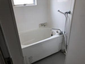 改修済浴室